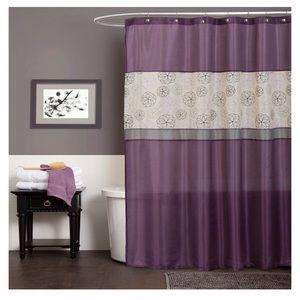 Lush Decor Covina Shower Curtain